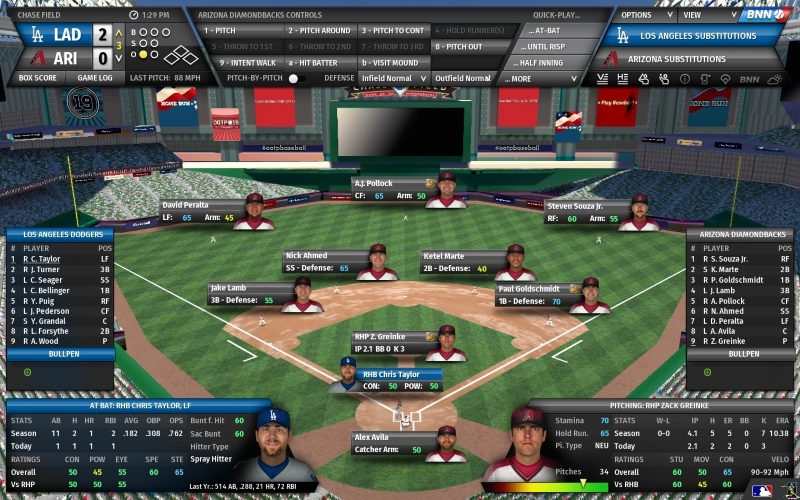 OOTP 19 is an award-winning baseball management simulation. Try the free demo! good Screen Shot